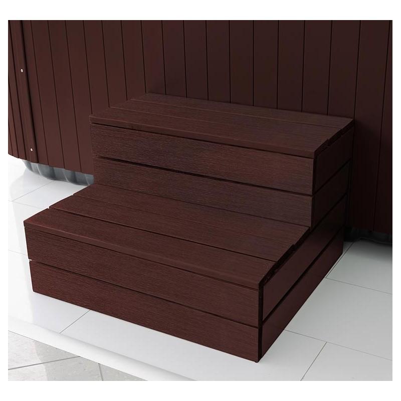 Дървени стъпала за хидромасажни вани