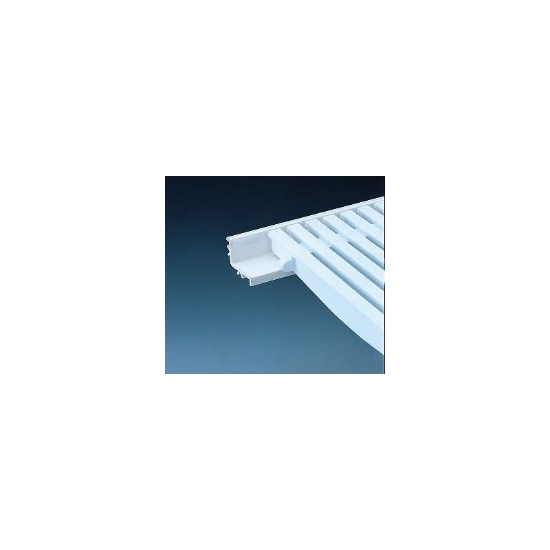 PVC ъглов винкел за преливна решетка