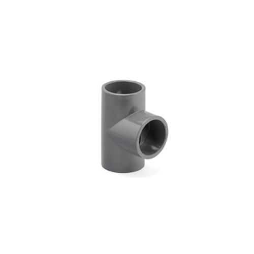 PVC тройник 90 градуса за лепене