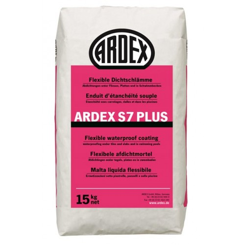 Еднокомпонентна еластична хидроизолация ARDEX S7 PLUS