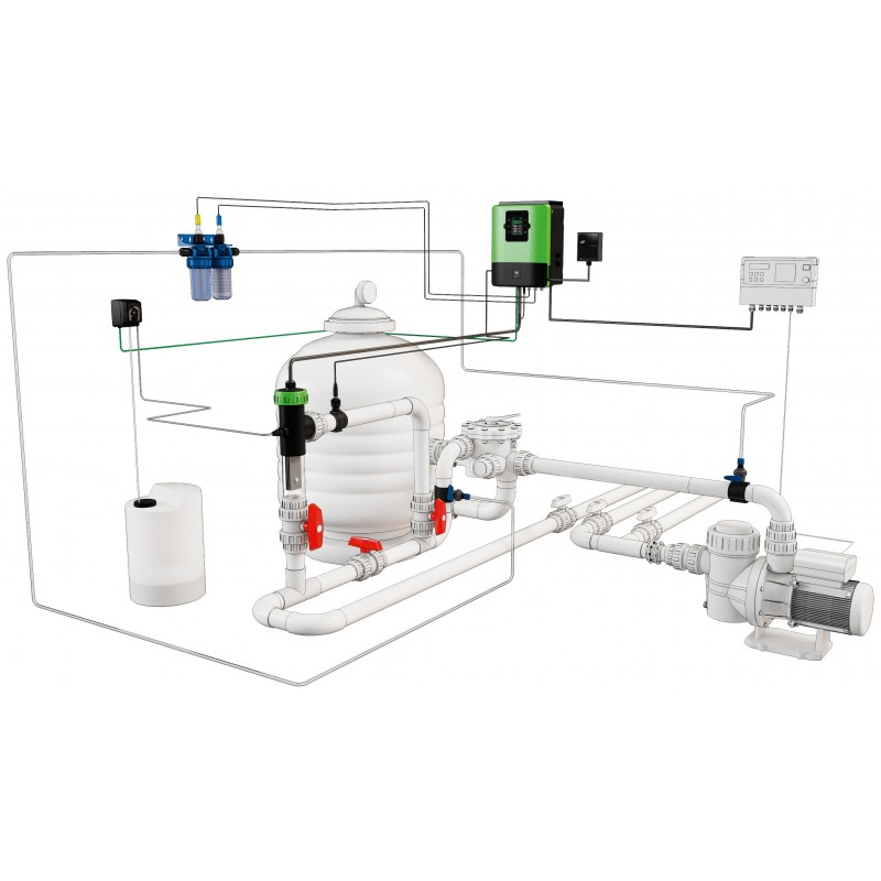 Система за солна електролиза и хидролиза OXILIFE