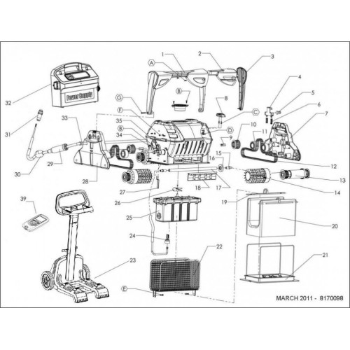Резервни части за роботи